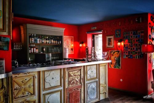 Bar branché Deauville